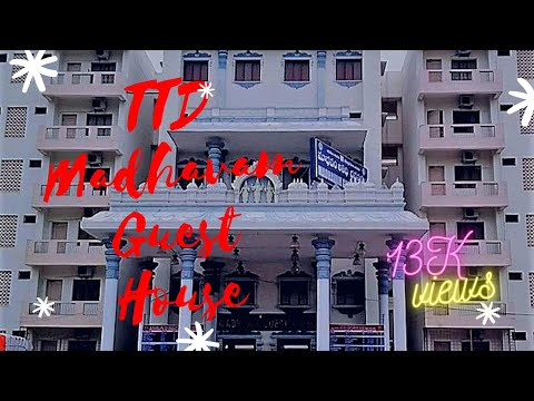 TTD Madhavam Guest House Tirupati