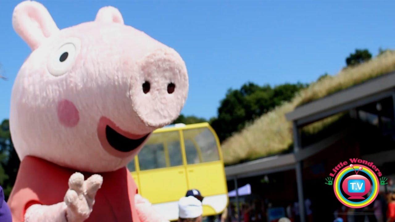 Peppa Pig World Meet Peppa Pig George In Real Life