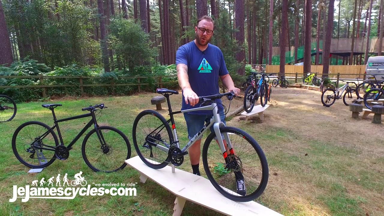 Marin Fairfax Hybrid Bike 2019 Youtube