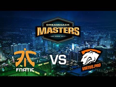 Fnatic vs. Virtus.Pro - Mirage - Group B - DreamHack Masters Las Vegas 2017