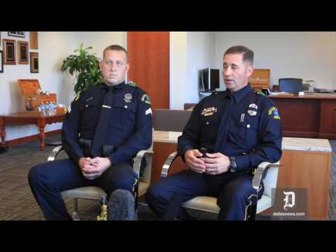 El Centro College Officers talks about the night of last Thursday's deadly shooting