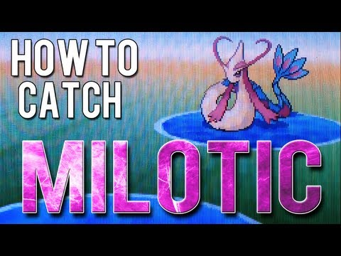 How To Catch Milotic - Pokemon Black 2 And White 2