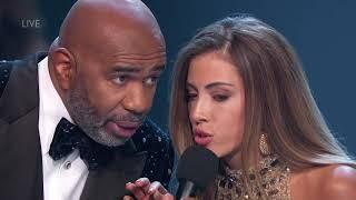 Miss Universe Costa Rica Jokes with Steve Harvey
