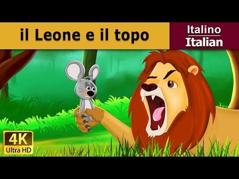il-leone-e-il-topo-|-storie-per-bambini-|-favole-per-bambini-|-fiabe-italiane