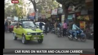 Man from Madhya Pradesh develops car that runs on water and calcium carbide