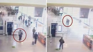 Watch: CCTV footage of Orly airport attack