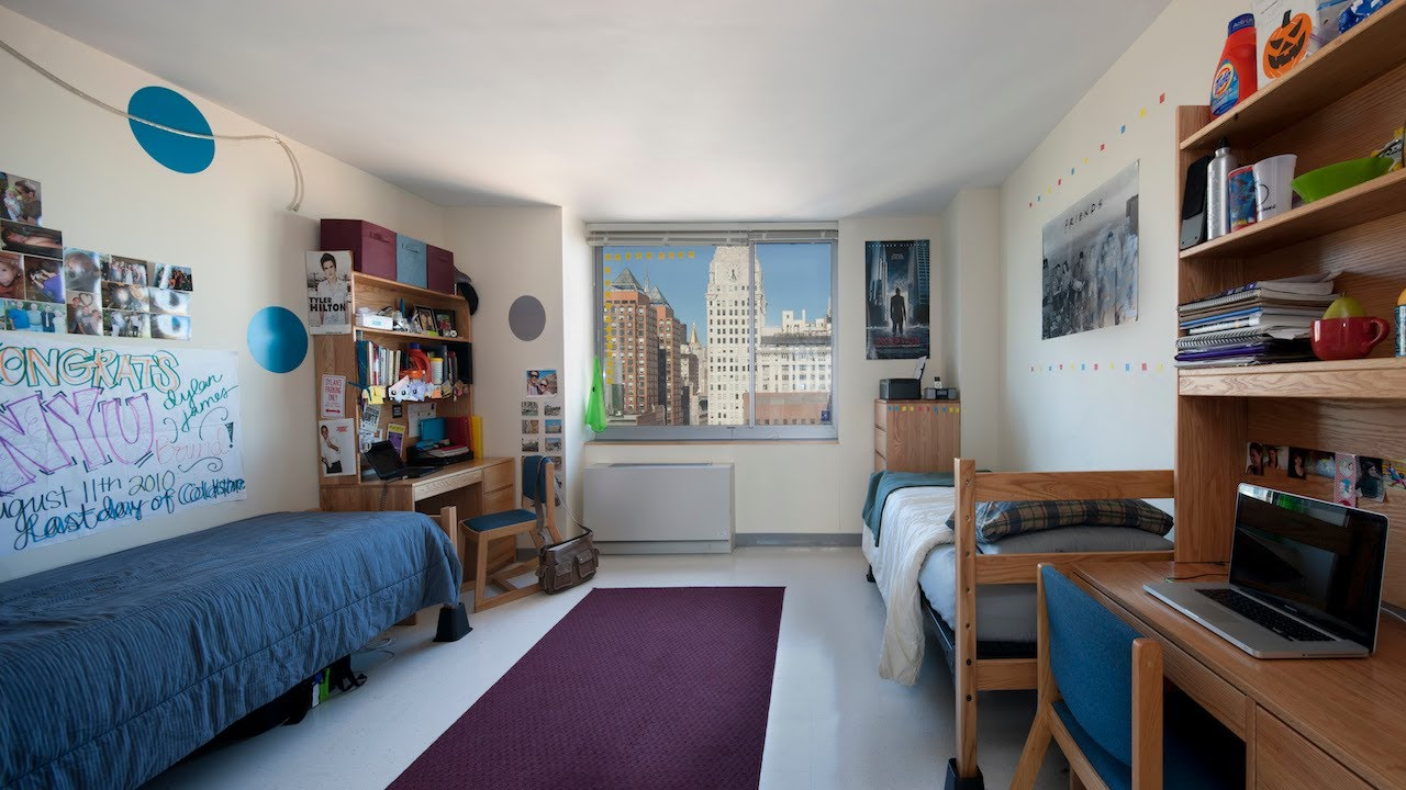 Founders Hall | NYU Dorm Tour - YouTube