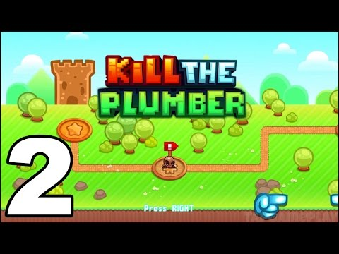 Kill the Plumber World - Gameplay Walkthrough Part 2 - World 2: Levels 13-24 (iOS, Android)