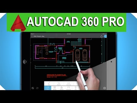 Autocad 360 App Tutorial On Android  Create House Plan On Mobile
