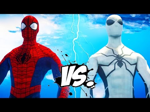 ULTIMATE SPIDERMAN VS SPIDER-MAN (FUTURE FOUNDATION)