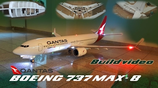 Video Qantas- Boeing 737 MAX-8 RC Airplane build video by Ramy RC download MP3, 3GP, MP4, WEBM, AVI, FLV Agustus 2018