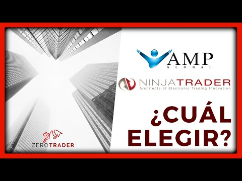 Comparativa entre Brokers Ninja Trader y AMP Global (Futuros)