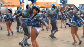 FRATERNIDAD CAPORALES CENTRALISTAS SAN MIGUEL - Festividad Virgen de Copacabana Lima 2015