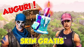 It's Fortnite's COMPLEANNO! - FREE SKIN AND PLAY PARK