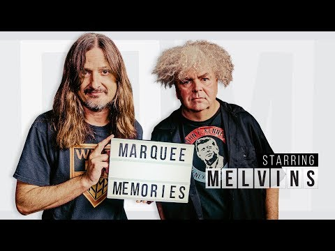 Marquee Memories: The Melvins Reminisce Seeing The Rolling Stones And Iggy Pop   Setlist.fm