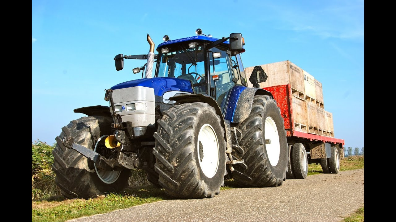 New Holland Tm 190 Blue Power With Straight Pipe Pure