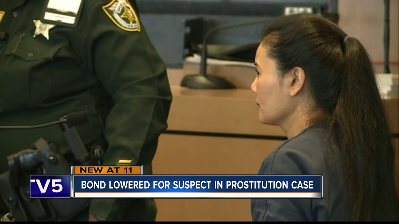 Judge reduces bond for Lei Wang, suspect in Jupiter spa prostitution case
