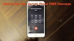 How to Use Your Verizon iPhone for FREE Overseas!