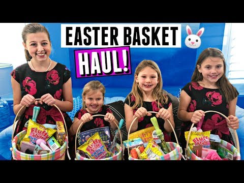 EASTER MORNING SPECIAL! EASTER BASKET HAUL 2018