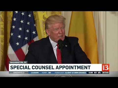 Reaction to special counsel appointment