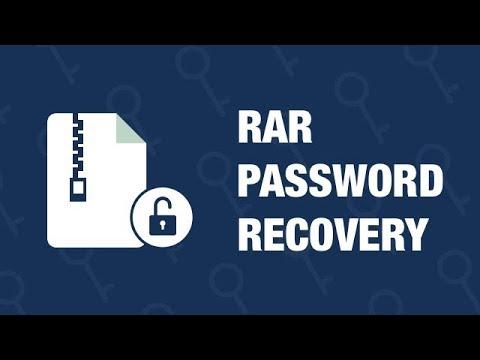 RAR Password Recovery - How to Recover RAR Password