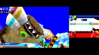 Sonic Generations 3DS [Part 1: Green Hill]