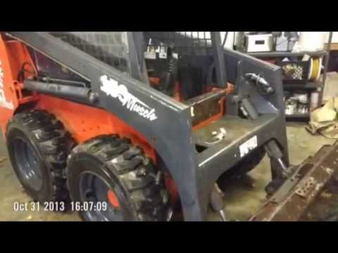 Home made Skid Steer Cab And Door - YouTube