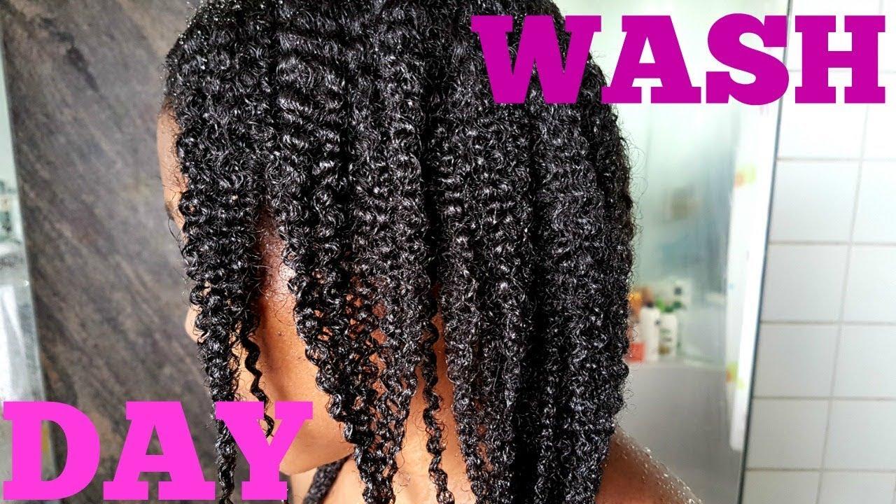 wash hair day thin