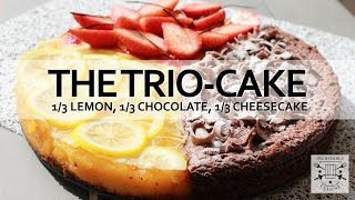 The Birthday Cake Popcorn Trio 3 In One Lemon Cheese And Chocolate