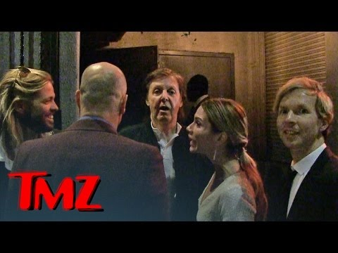 Paul McCartney DENIED at Grammy Party