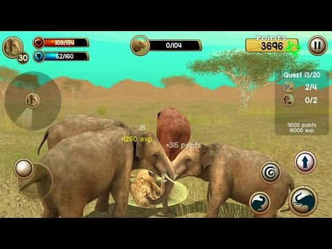 Wild Elephant Sim 3D Android Gameplay #3