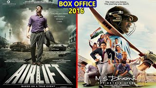 Airlift vs MS Dhoni The Untold Story 2016 Movie Budget, Box Office Collection, Verdict and Facts