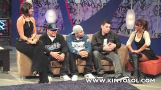 Kinto Sol en el programa Accesso Maximo - Detras de las camaras/ Behind the scenes