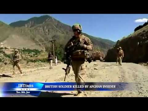 British soldier killed by Afghan insider