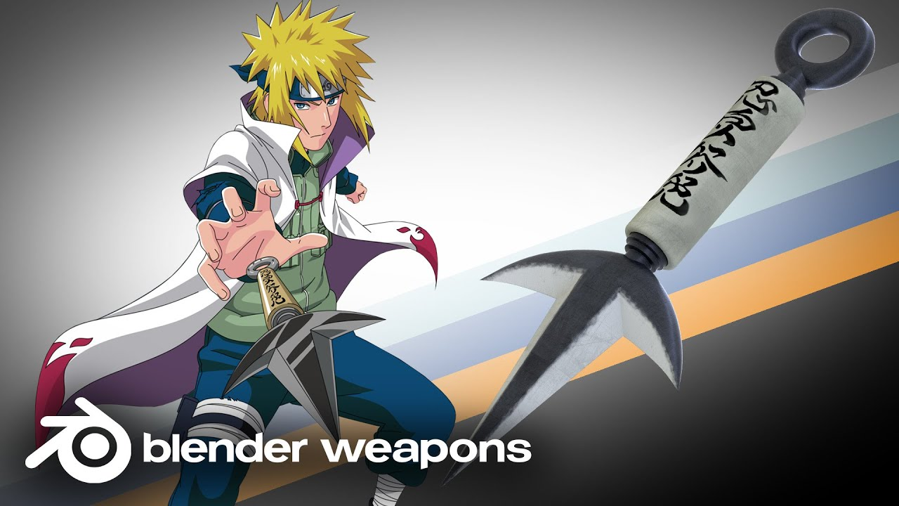Yondaime Hokage Kunai Naruto - Yondai...
