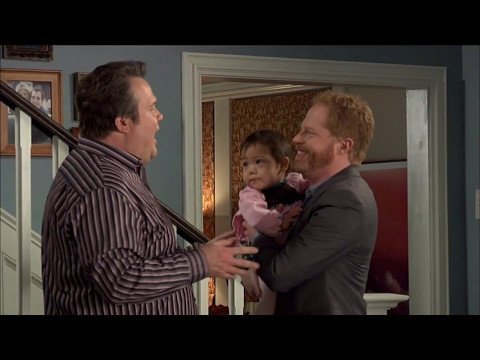 Modern Family Behind   Cam and Mitchell