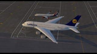 Gambar cover Слон и Моська. Airbus A380 для X-Plane