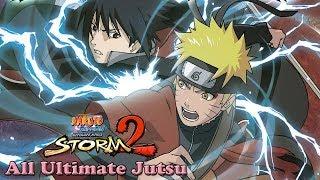 Naruto Shippuden Ultimate Ninja Storm 2 All Ultimate Jutsu (HD)