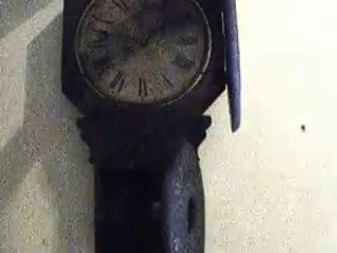 Baird Globe Oil Clock