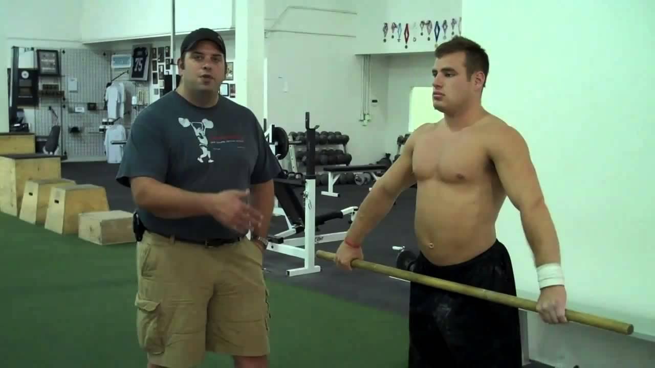 Upper Body Flexibility for Olympic Weightlifting