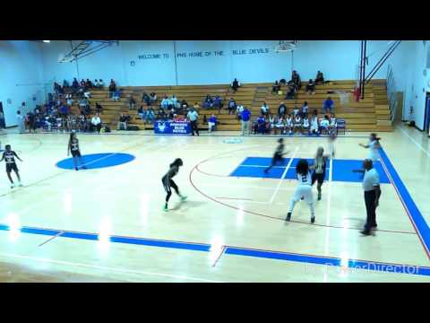 Pahokee high school :Jatasia Johnson #5 VS. fort Meade