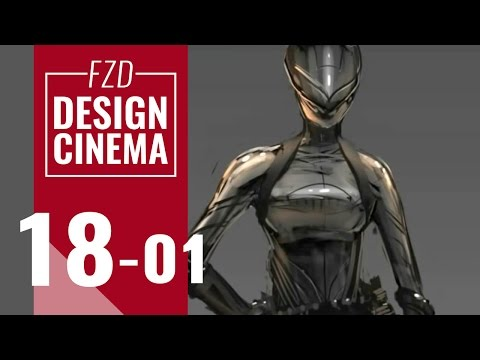 Design Cinema – EP 18 - Character Sketching Part 01