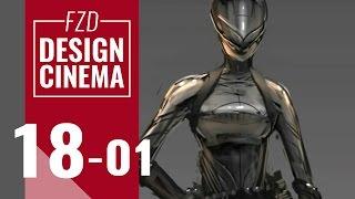 Design Cinema – EP 18 - Character Sketching Part 01