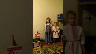 Конкурс «Привет из сказки»: Харламова Ирина, Харламов Глеб, Харламова Светлана Алексеевна