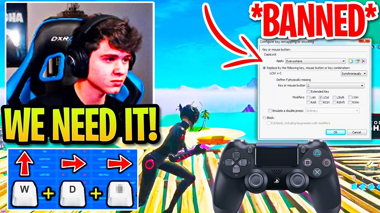 Bugha Truly Shows How OP Controller Movement is & Argues Why KEYBOARD Needs it after MACROS BANNED!
