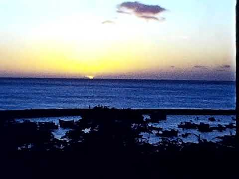 19__ - Pokui bay Sunset from PB Marina -  Honolulu Skyline & D Hood