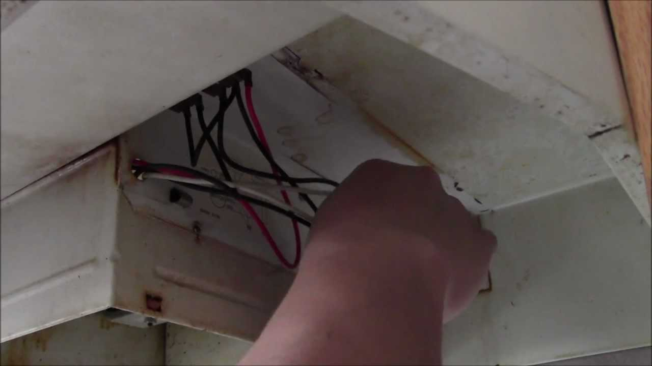 Hood Fan Installation Youtube Stove And Light Wiring Diagram