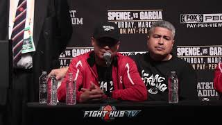 MIKEY GARCIA GOES IN DEPTH ON HIS LOSS TO ERROL SPENCE JR
