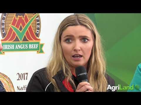 Jordan Molloy speaking about her experiences as a women in the ag industry