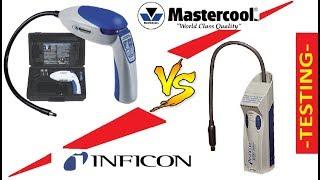 Mastercool ms55100 VS Inficon D-Tek Select 712-202-G6. Течеискатели фреона.